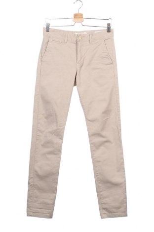 Мъжки панталон H&M L.O.G.G., Размер S, Цвят Бежов, 98% памук, 2% еластан, Цена 13,13лв.