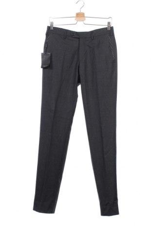 Ανδρικό παντελόνι Massimo Dutti, Μέγεθος S, Χρώμα Γκρί, Μαλλί, Τιμή 13,96€