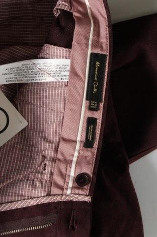 Pánské kalhoty  Massimo Dutti, Velikost M, Barva Červená, Bavlna, Cena  532,00Kč