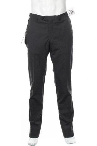 Ανδρικό παντελόνι Massimo Dutti, Μέγεθος M, Χρώμα Γκρί, Μαλλί, Τιμή 14,05€