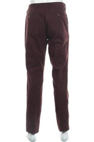 Pánské kalhoty  Massimo Dutti, Velikost L, Barva Červená, Bavlna, Cena  532,00Kč