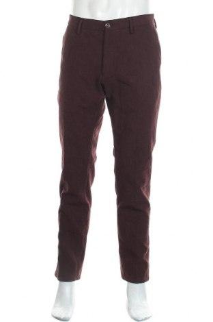 Pánské kalhoty  Massimo Dutti, Velikost L, Barva Červená, Bavlna, Cena  572,00Kč