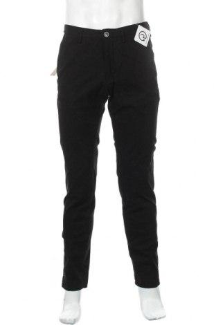 Pánské kalhoty  Massimo Dutti, Velikost M, Barva Černá, 97% bavlna, 3% elastan, Cena  458,00Kč