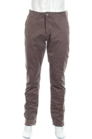 Ανδρικό παντελόνι SUN68, Μέγεθος L, Χρώμα Καφέ, 98% βαμβάκι, 2% ελαστάνη, Τιμή 22,27€