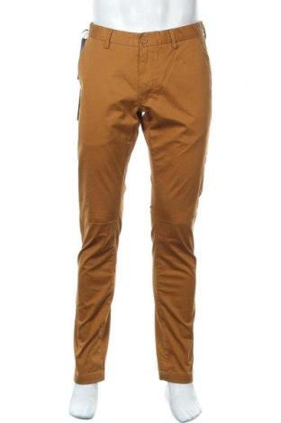 Мъжки панталон Teddy Smith, Размер M, Цвят Кафяв, 97% памук, 3% еластан, Цена 44,50лв.