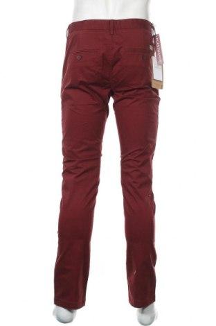 Мъжки панталон Teddy Smith, Размер M, Цвят Червен, 97% памук, 3% еластан, Цена 66,75лв.