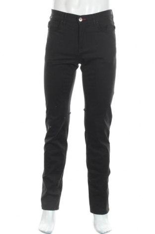 Ανδρικό παντελόνι Trussardi Jeans, Μέγεθος S, Χρώμα Μαύρο, 97% βαμβάκι, 3% ελαστάνη, Τιμή 32,32€