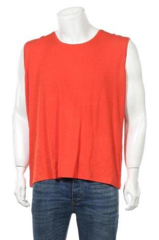 Ανδρική αμάνικη μπλούζα Malva, Μέγεθος XXL, Χρώμα Πορτοκαλί, 92% βισκόζη, 8% ελαστάνη, Τιμή 7,79€