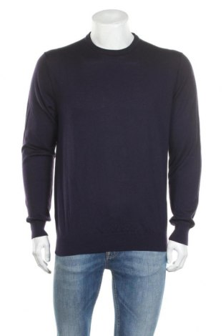 Pulover de bărbați Suitsupply, Mărime XL, Culoare Mov, Merinos, Preț 157,89 Lei