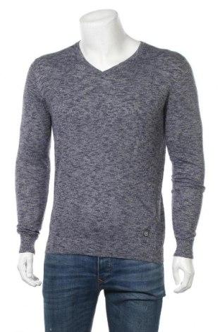 Мъжки пуловер Teddy Smith, Размер M, Цвят Син, 60% памук, 40% полиестер, Цена 27,60лв.