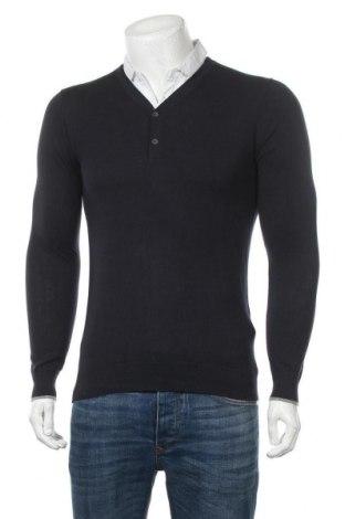 Мъжки пуловер Teddy Smith, Размер M, Цвят Син, Памук, Цена 31,60лв.