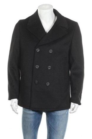 Ανδρικά παλτό Guess By Marciano, Μέγεθος M, Χρώμα Μαύρο, 51% μαλλί, 39% πολυεστέρας, 5%ακρυλικό, 3% πολυαμίδη, 2% βισκόζη, Τιμή 79,78€