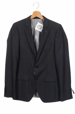 Ανδρικό σακάκι, Μέγεθος XS, Χρώμα Μπλέ, 70% πολυεστέρας, 30% βισκόζη, Τιμή 3,67€