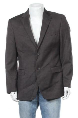 Мъжко сако, Размер L, Цвят Кафяв, Вълна, Цена 5,59лв.