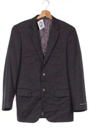 Мъжко сако, Размер XS, Цвят Кафяв, 50% полиестер, 50% вискоза, Цена 5,51лв.