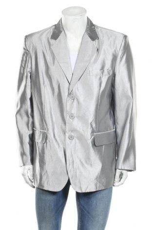 Мъжко сако, Размер L, Цвят Сребрист, Полиестер, Цена 3,00лв.