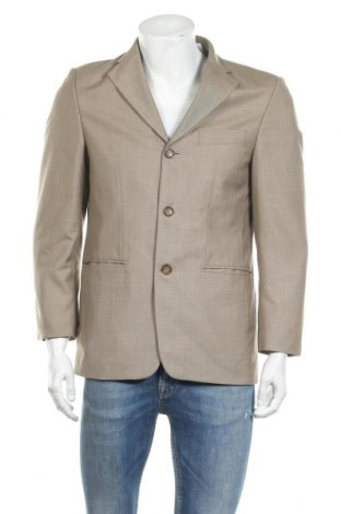 Мъжко сако Canda, Размер S, Цвят Бежов, 84% полиестер, 16% вискоза, Цена 3,00лв.