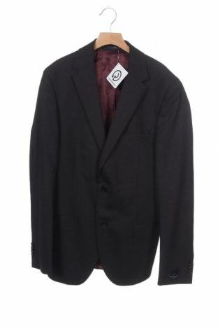 Ανδρικό σακάκι Eduard Dressler, Μέγεθος M, Χρώμα Γκρί, Μαλλί, Τιμή 27,74€