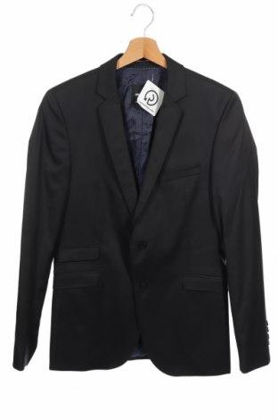 Ανδρικό σακάκι Strellson, Μέγεθος S, Χρώμα Μαύρο, 70% μαλλί, 30% πολυαμίδη, Τιμή 5,38€