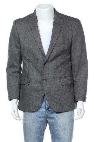 Ανδρικό σακάκι Ted Lapidus, Μέγεθος L, Χρώμα Γκρί, 50% μαλλί, 35% πολυεστέρας, 15% βαμβάκι, Τιμή 4,78€