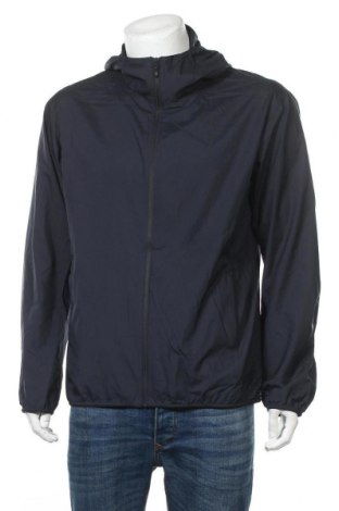 Мъжко спортно яке Uniqlo, Размер L, Цвят Син, Полиестер, Цена 18,90лв.