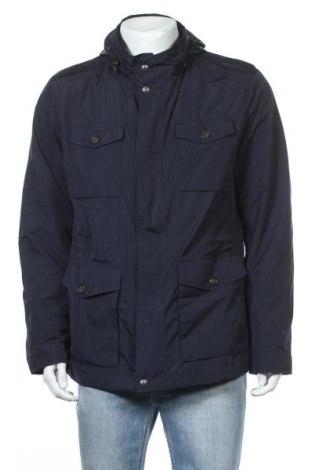 Ανδρικό μπουφάν Massimo Dutti, Μέγεθος XL, Χρώμα Μπλέ, Πολυεστέρας, Τιμή 30,31€