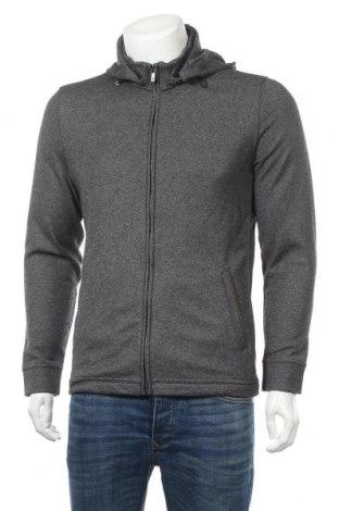 Ανδρικό μπουφάν Massimo Dutti, Μέγεθος M, Χρώμα Γκρί, 60% πολυεστέρας, 18% μαλλί, 12% μοντάλ, 9% βαμβάκι, 1% ελαστάνη, Τιμή 33,87€