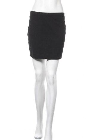 Пола H&M, Размер M, Цвят Черен, 95% памук, 5% еластан, Цена 14,18лв.
