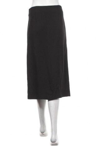 Пола Massimo Dutti, Размер M, Цвят Черен, 99% вискоза, 1% еластан, Цена 40,31лв.