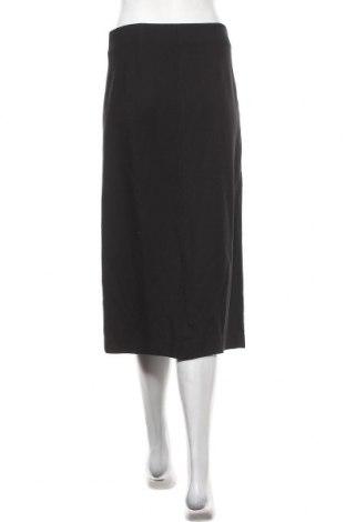 Пола Massimo Dutti, Размер L, Цвят Черен, 99% вискоза, 1% еластан, Цена 40,31лв.