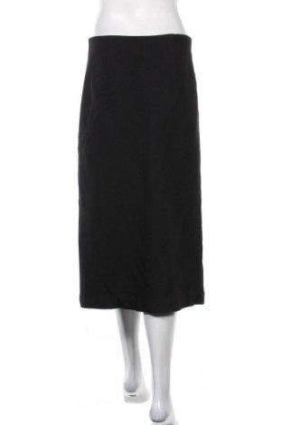 Пола Massimo Dutti, Размер M, Цвят Черен, 99% вискоза, 1% еластан, Цена 36,96лв.