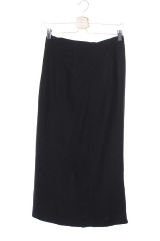 Пола Massimo Dutti, Размер XS, Цвят Черен, 99% вискоза, 1% еластан, Цена 40,31лв.