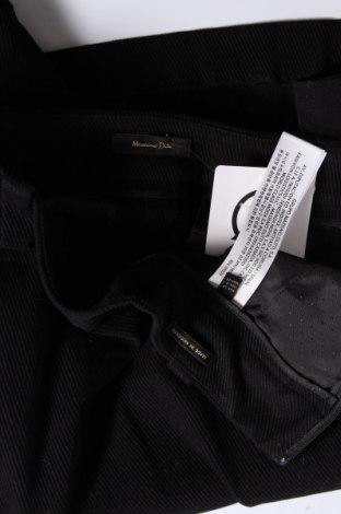 Пола Massimo Dutti, Размер S, Цвят Черен, 98% памук, 2% еластан, Цена 25,76лв.