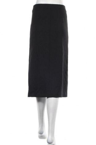 Пола Massimo Dutti, Размер XS, Цвят Черен, 99% вискоза, 1% еластан, Цена 40,46лв.