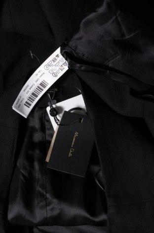Пола Massimo Dutti, Размер M, Цвят Черен, 99% вискоза, 1% еластан, Цена 40,46лв.
