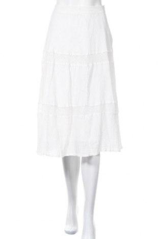 Φούστα Noa Noa, Μέγεθος XL, Χρώμα Λευκό, Βαμβάκι, Τιμή 15,59€