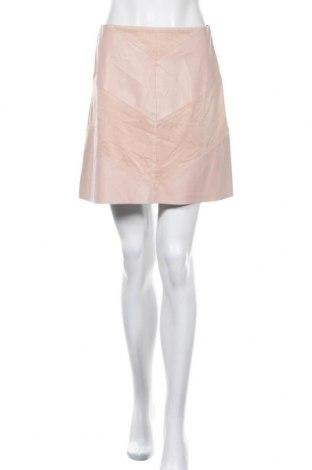 Пола Zara, Размер S, Цвят Розов, Еко кожа, Цена 10,80лв.