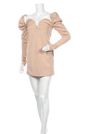 Φόρεμα Simple Wish, Μέγεθος S, Χρώμα  Μπέζ, Τιμή 6,64€