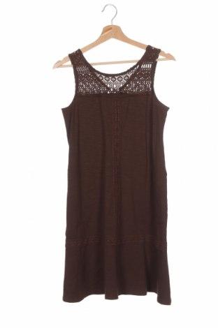 Φόρεμα J.Jill, Μέγεθος XS, Χρώμα Καφέ, 58% βαμβάκι, 37% μοντάλ, 5% ελαστάνη, Τιμή 5,91€