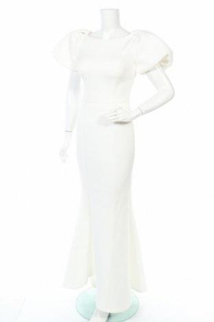 Рокля Jarlo, Размер XS, Цвят Бял, 95% полиестер, 5% еластан, Цена 53,00лв.