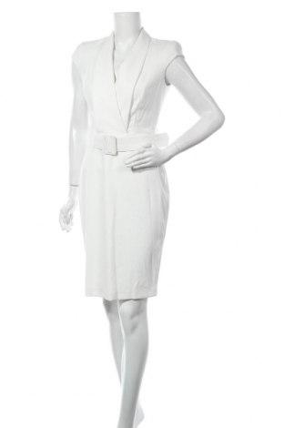 Šaty  Sandro Ferrone, Velikost M, Barva Bílá, 95% polyester, 5% elastan, Cena  1870,00Kč