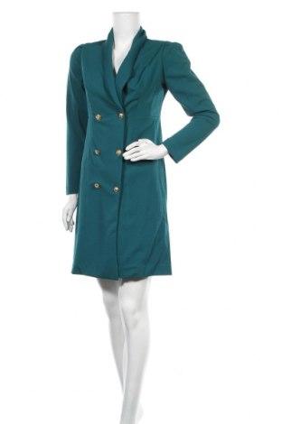 Рокля Sandro Ferrone, Размер M, Цвят Зелен, 97% полиестер, 3% еластан, Цена 55,77лв.