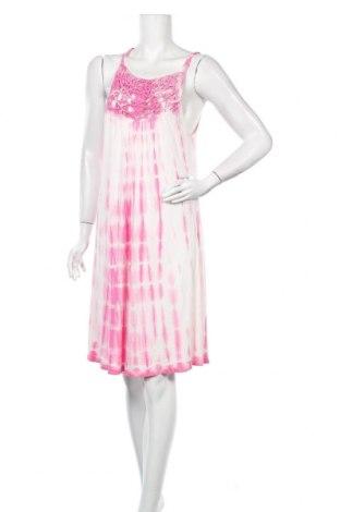 Рокля Teddy Smith, Размер M, Цвят Розов, 100% вискоза, Цена 51,75лв.