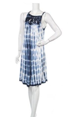 Šaty  Teddy Smith, Velikost S, Barva Modrá, 100% viskóza, Cena  430,00Kč