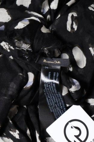 Κασκόλ Massimo Dutti, Χρώμα Μαύρο, 90% μοντάλ, 10% μετάξι, Τιμή 11,44€