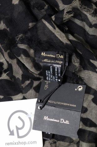Κασκόλ Massimo Dutti, Χρώμα Μαύρο, 93% μοντάλ, 7% μετάξι, Τιμή 11,74€