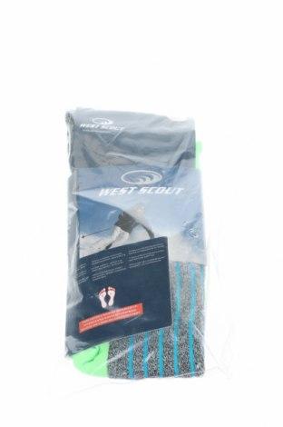 Спортни чорапи West Scout, Размер S, Цвят Многоцветен, 80% полиестер, 17% полиамид, 3% еластан, Цена 14,40лв.