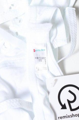 Сутиен Petite Fleur, Размер L, Цвят Бял, 70% памук, 20% еластан, 10% полиестер, Цена 39,00лв.