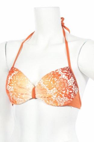 Дамски бански TWINSET, Размер L, Цвят Оранжев, 85% полиамид, 15% еластан, Цена 16,35лв.