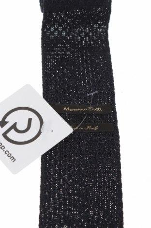 Γραβάτα Massimo Dutti, Χρώμα Μπλέ, Μετάξι, Τιμή 15,16€